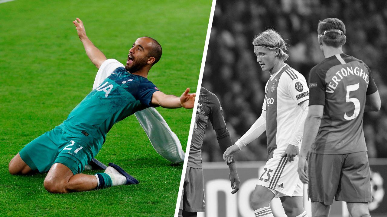 Football - Ligue des champions - Tops/flops Ajax Amsterdam-Tottenham : Lucas ce héros, Dolberg hors sujet