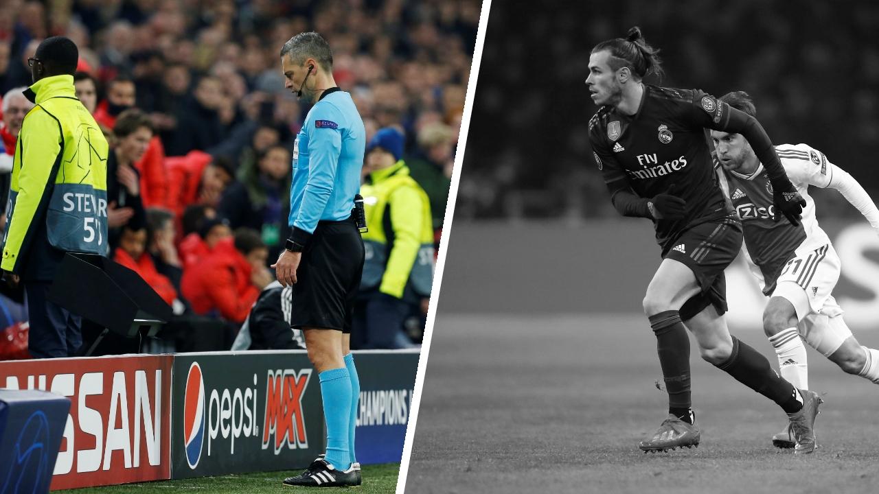 Football - Ligue des champions - Tops/Flops Ajax-Real Madrid : le VAR réussit son entrée en C1, Bale dans un mauvais soir