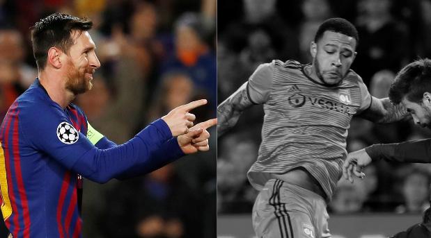 Football - Ligue des champions - Tops/Flops Barça-Lyon : Messi le patron, Depay rendez-vous manqué