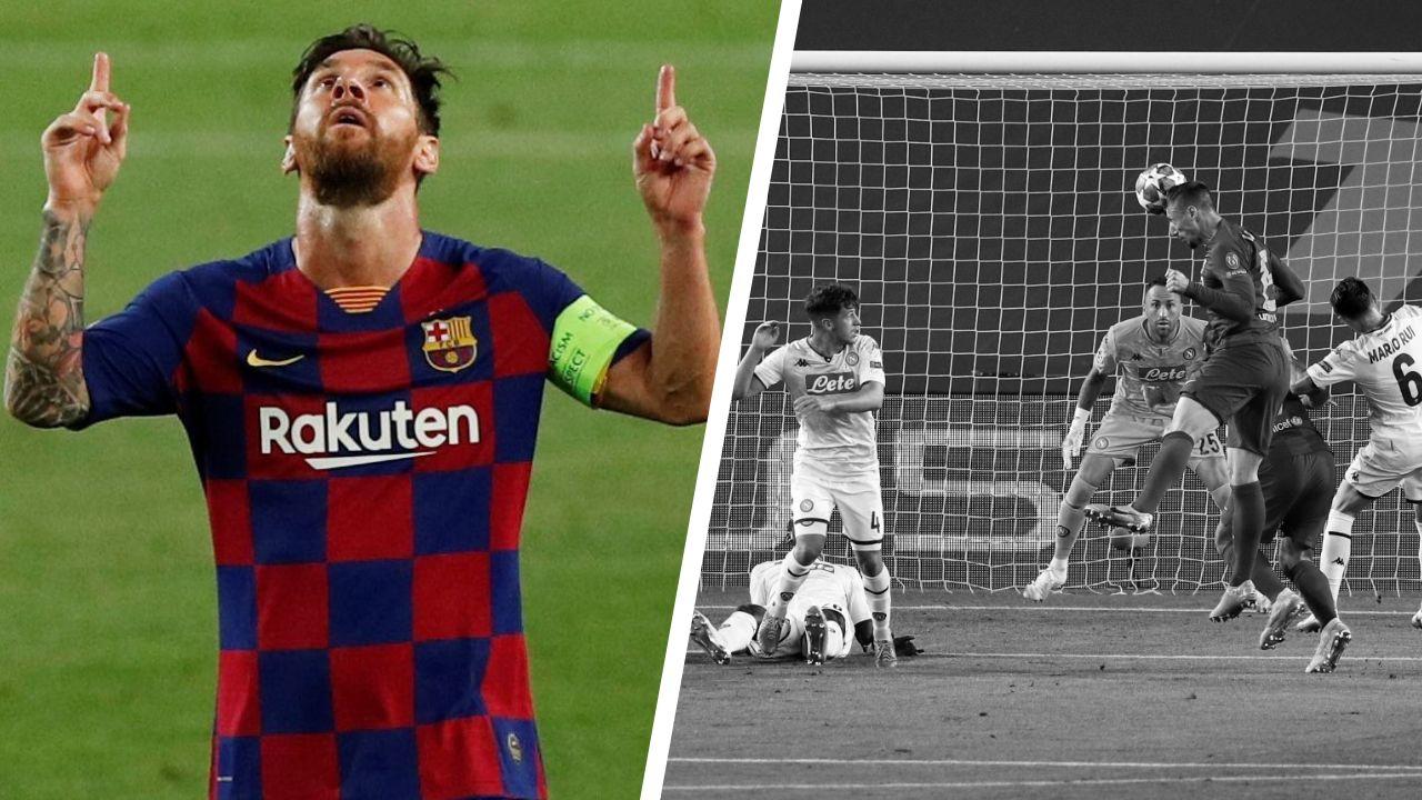 Football - Ligue des champions - Tops/Flops Barça-Naples : Messi encore et toujours, la VAR en panne