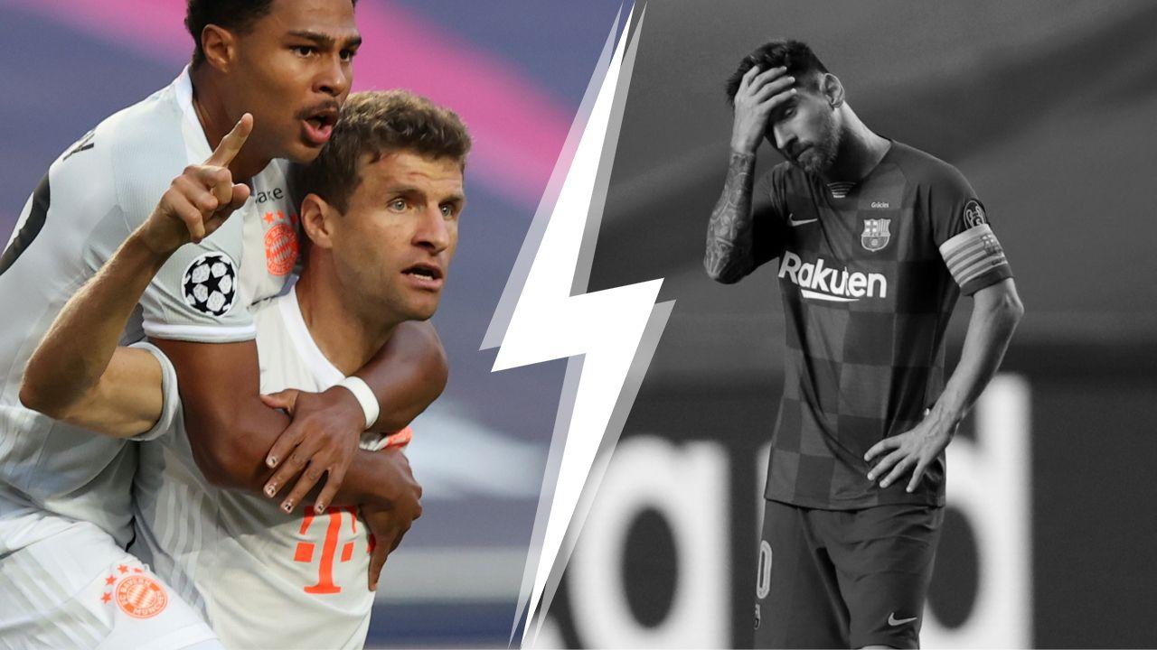 Tops/Flops Barcelone-Bayern : L'incroyable furia bavaroise, l'humiliation suprême pour le Barça