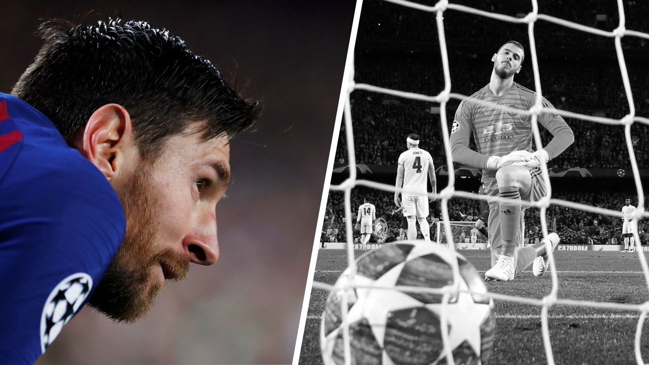 Football - Ligue des champions - Tops/Flops Barcelone-Man United : Messi en démonstration, Manchester sous l'eau