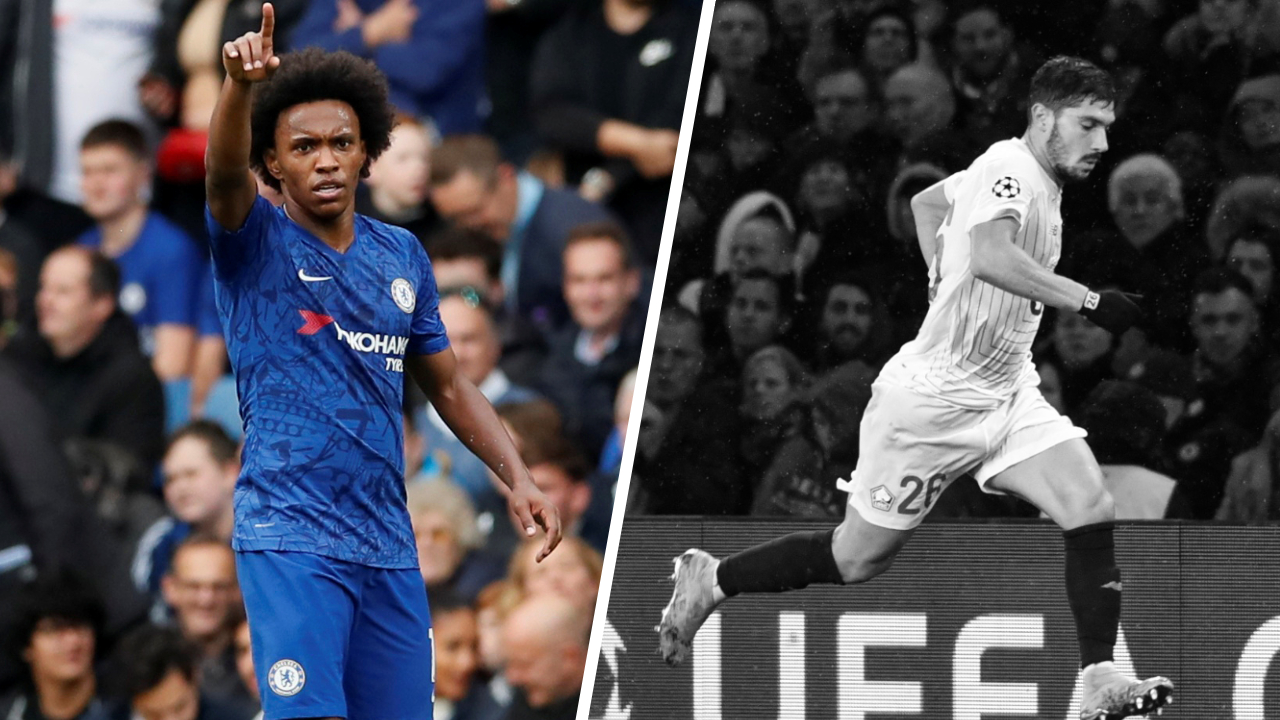 Football - Ligue des champions - Tops/Flops Chelsea-Lille : L'intenable Willian, Pied a souffert