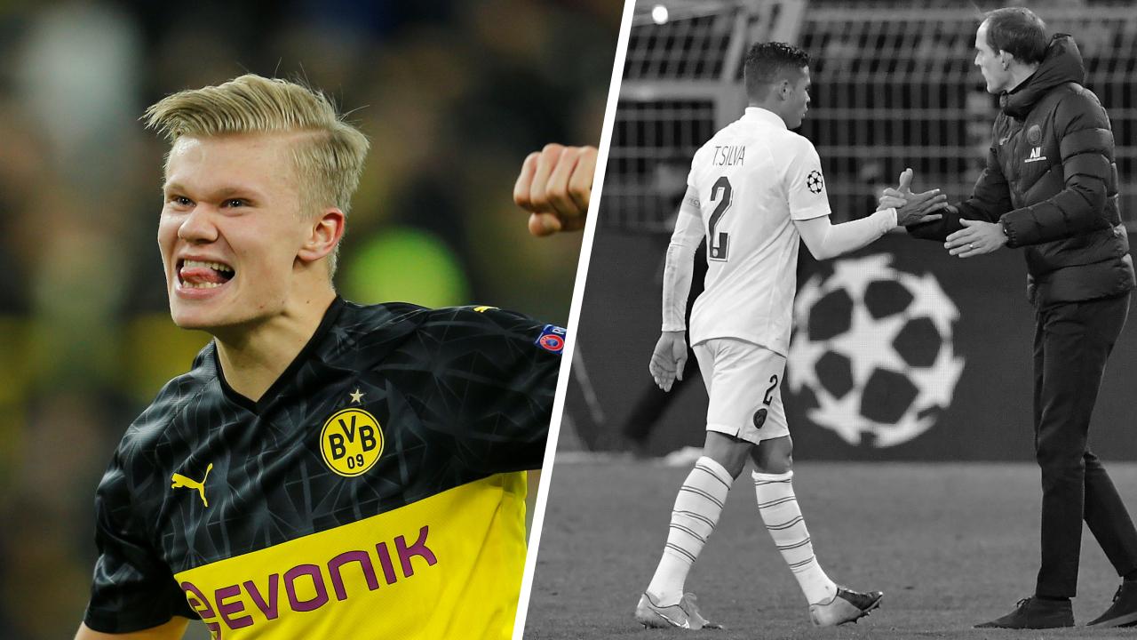 Football - Ligue des champions - Tops/Flops Dortmund-PSG : Haaland superstar, Paris n'a pas le niveau