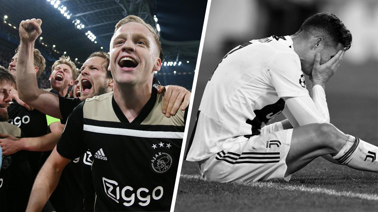 Football - Ligue des champions - Tops/Flops Juventus-Ajax : L'Ajax a encore fait le ménage, la Juve à court d'idées
