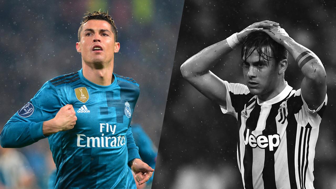 Football - Ligue des champions - Tops/Flops Juventus-Real : Ronaldo est inarrêtable, Dybala en plein cauchemar