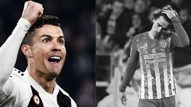 Football - Ligue des champions - Tops/flops Juventus-Atlético Madrid : Sa Majesté Ronaldo, les Colchoneros KO