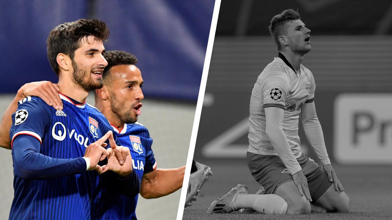 Football - Ligue des champions - Tops/Flops Leipzig-Lyon : Terrier cartonne, Werner vendange