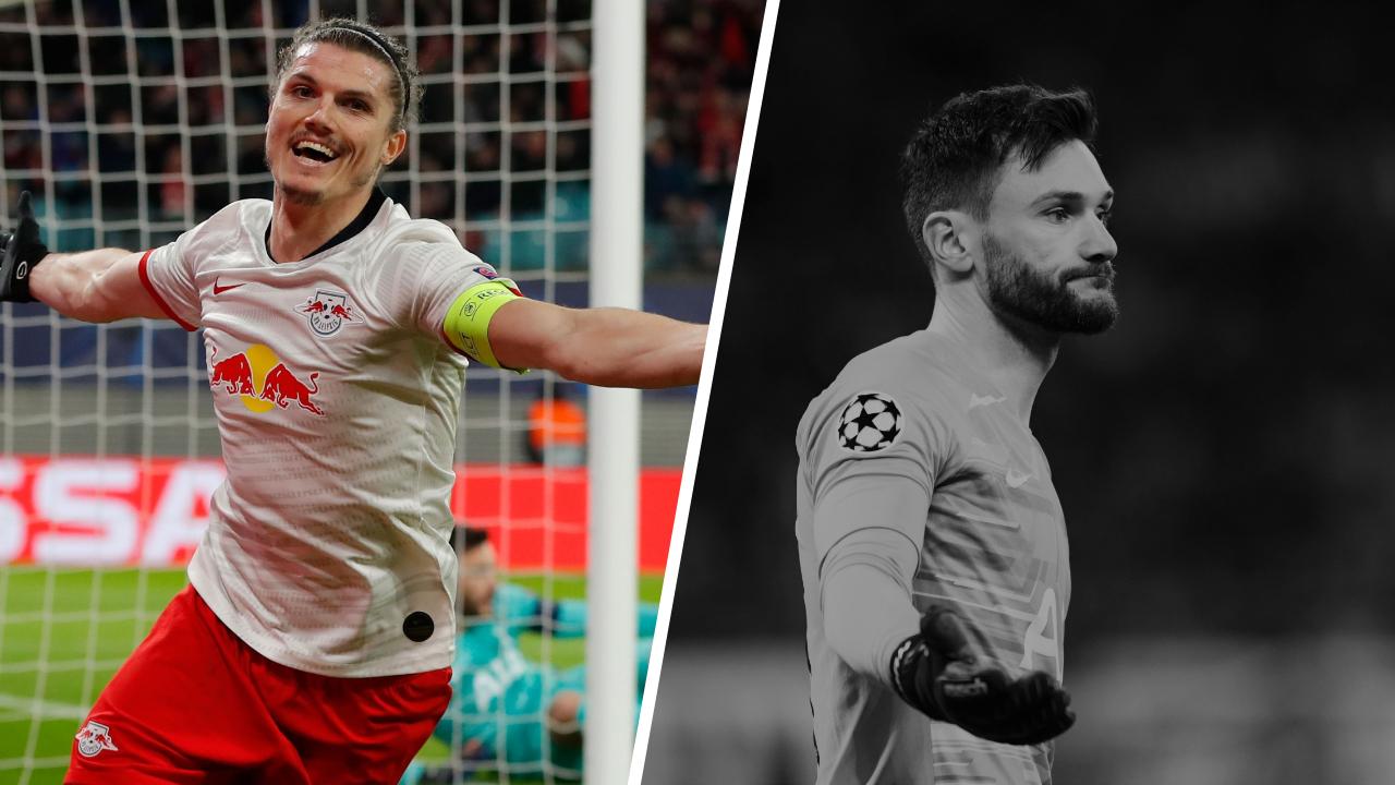Football - Ligue des champions - Tops/flops Leipzig-Tottenham : Sabitzer le patron, Lloris coupable