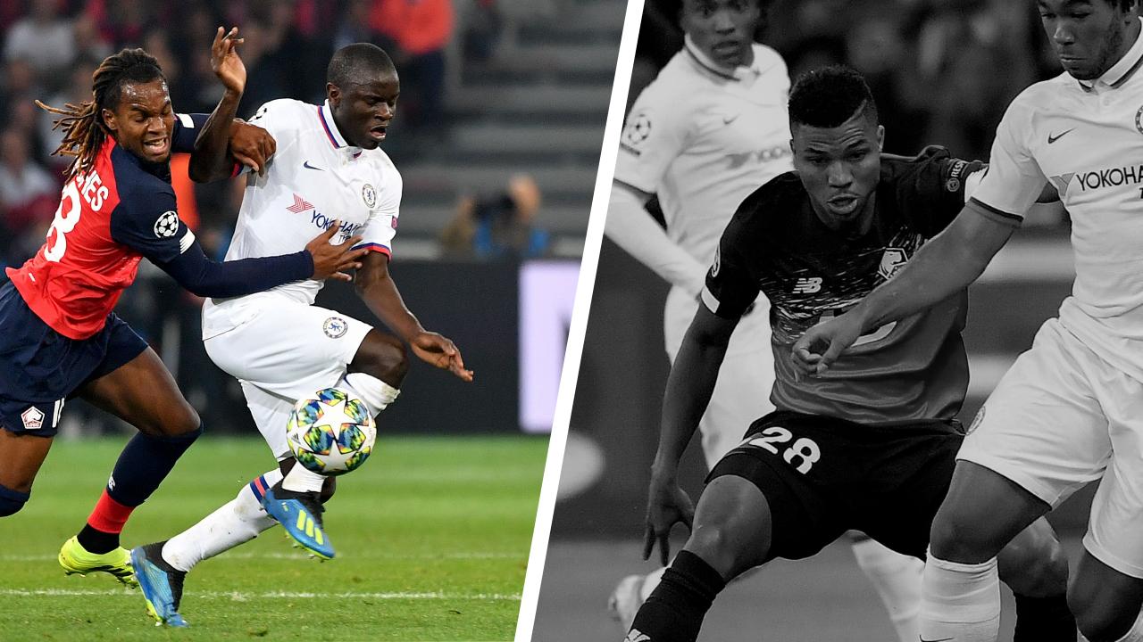 Football - Ligue des champions - Tops/flops Lille-Chelsea : Kanté très présent, Reinildo a souffert