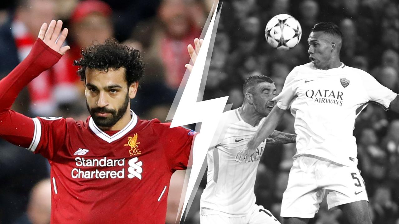 Football - Ligue des champions - Tops/Flops Liverpool-AS Roma : Salah marche sur l'eau, la Louve pas au niveau