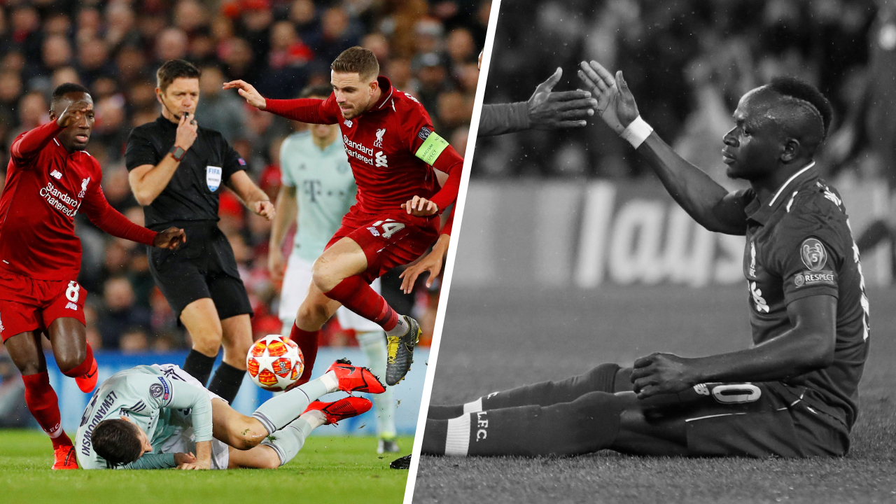 Football - Ligue des champions - Tops/Flops Liverpool-Bayern : le duo Henderson-Keita impérial au milieu, Mané a trop gâché