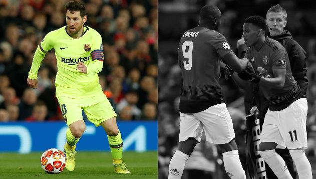Football - Ligue des champions - Tops/Flops Man United-Barcelone : Messi le chef d'orchestre, Lukaku dans le dur