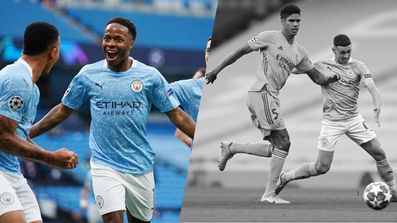 Football - Ligue des champions - Tops/Flops Manchester City-Real Madrid : Sterling-De Bruyne dans tous les bons coups, le naufrage de Varane