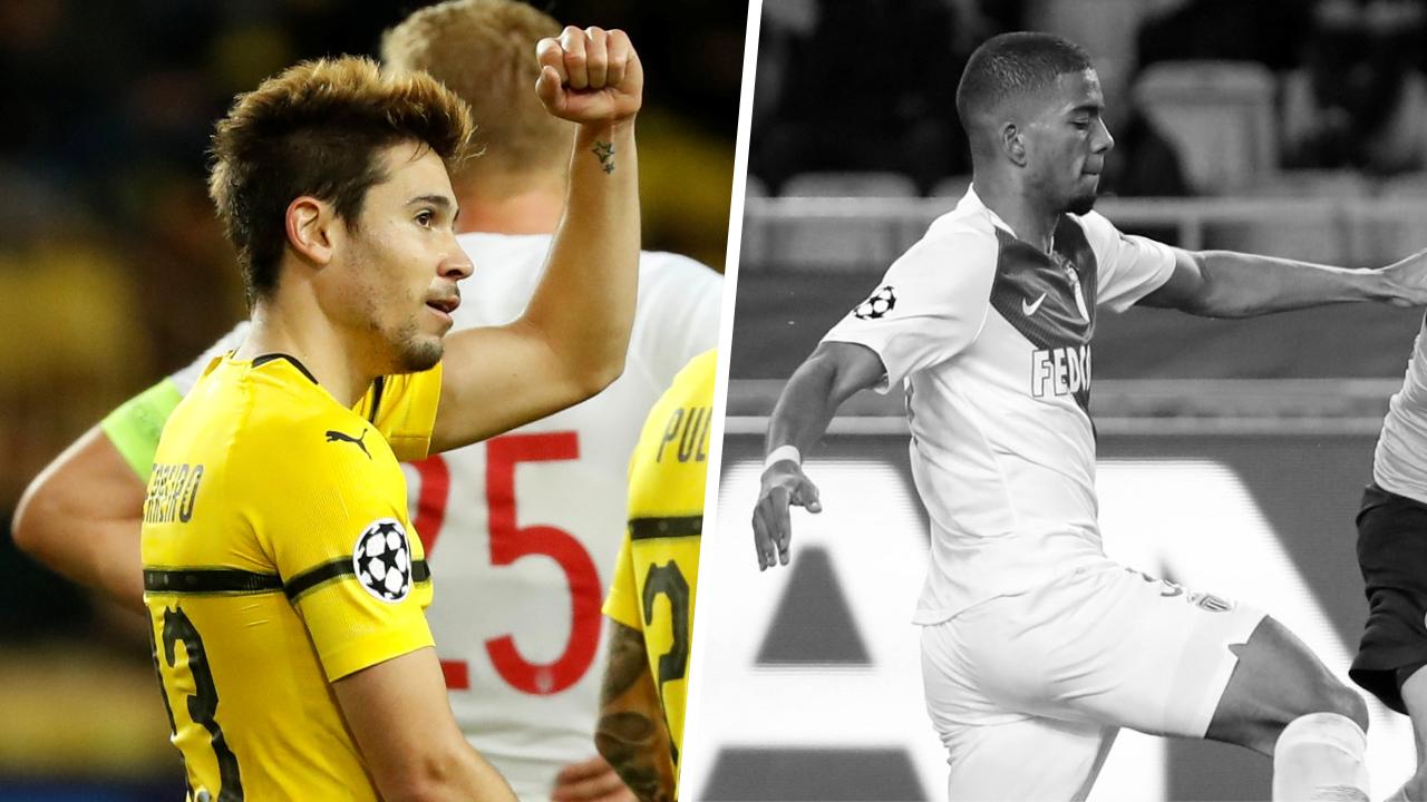 Football - Ligue des champions - Tops/Flops Monaco-Borussia Dortmund : le bourreau Guerreiro, l'ASM pas au niveau