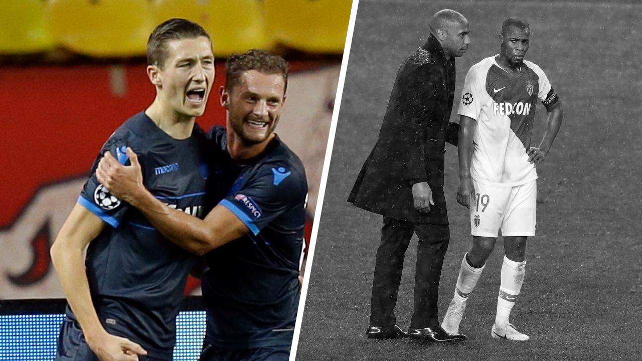 Football - Ligue des champions - Tops/flops Monaco-Bruges : Vanaken sans pitié, l'ASM touche le fond