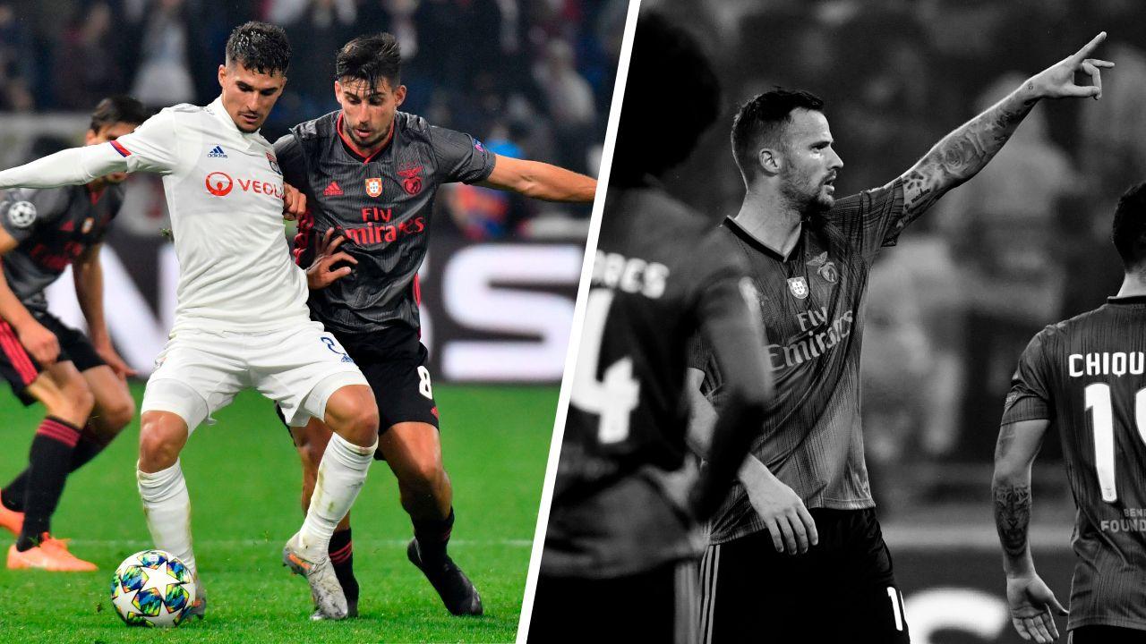 Football - Ligue des champions - Tops/Flops Lyon-Benfica : Aouar enfin au niveau, Benfica trop limité