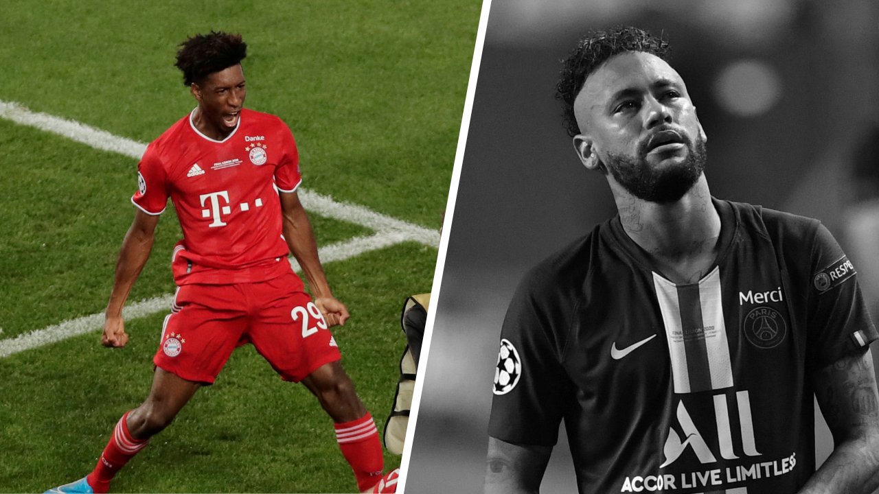 Football - Ligue des champions - Tops/Flops PSG-Bayern Munich : Coman le Titi devenu bourreau, Neymar bien pataud