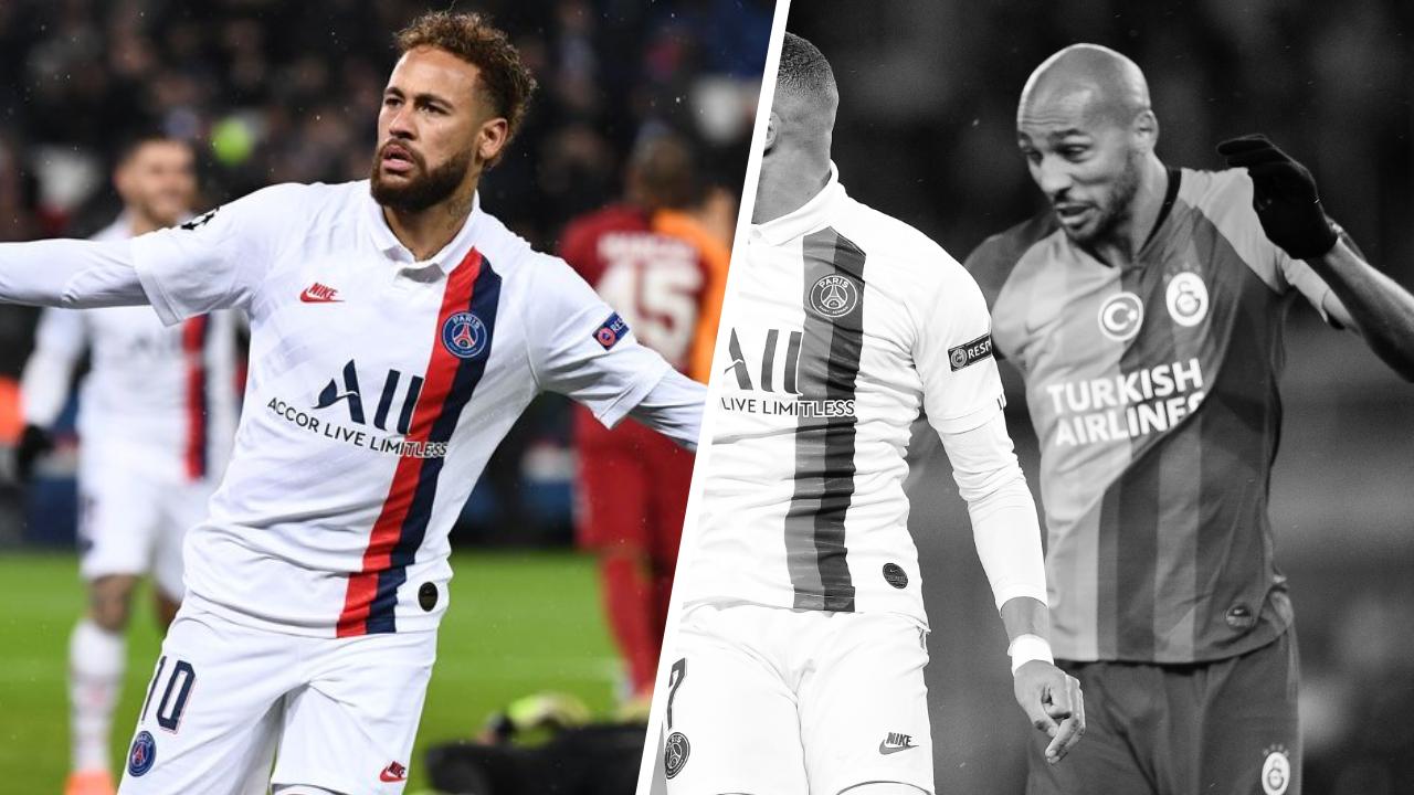 Football - Ligue des champions - Tops/Flops PSG-Galatasaray : Etincelant Neymar, N'Zonzi dépassé