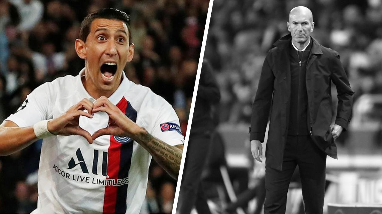 Football - Ligue des champions - Tops/Flops PSG-Real Madrid : Ave Di Maria, un Real dépassé