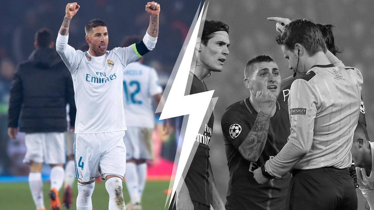 Football - Ligue des champions - Tops/Flops PSG-Real Madrid : Ramos toujours présent, Verratti désespérant