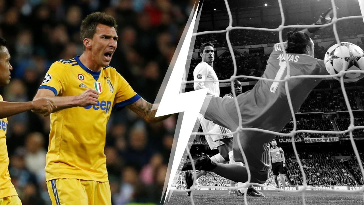 Football - Ligue des champions - Tops/Flops Real Madrid-Juventus Turin : Mandzukic a lancé la Juve, Navas a plombé le Real
