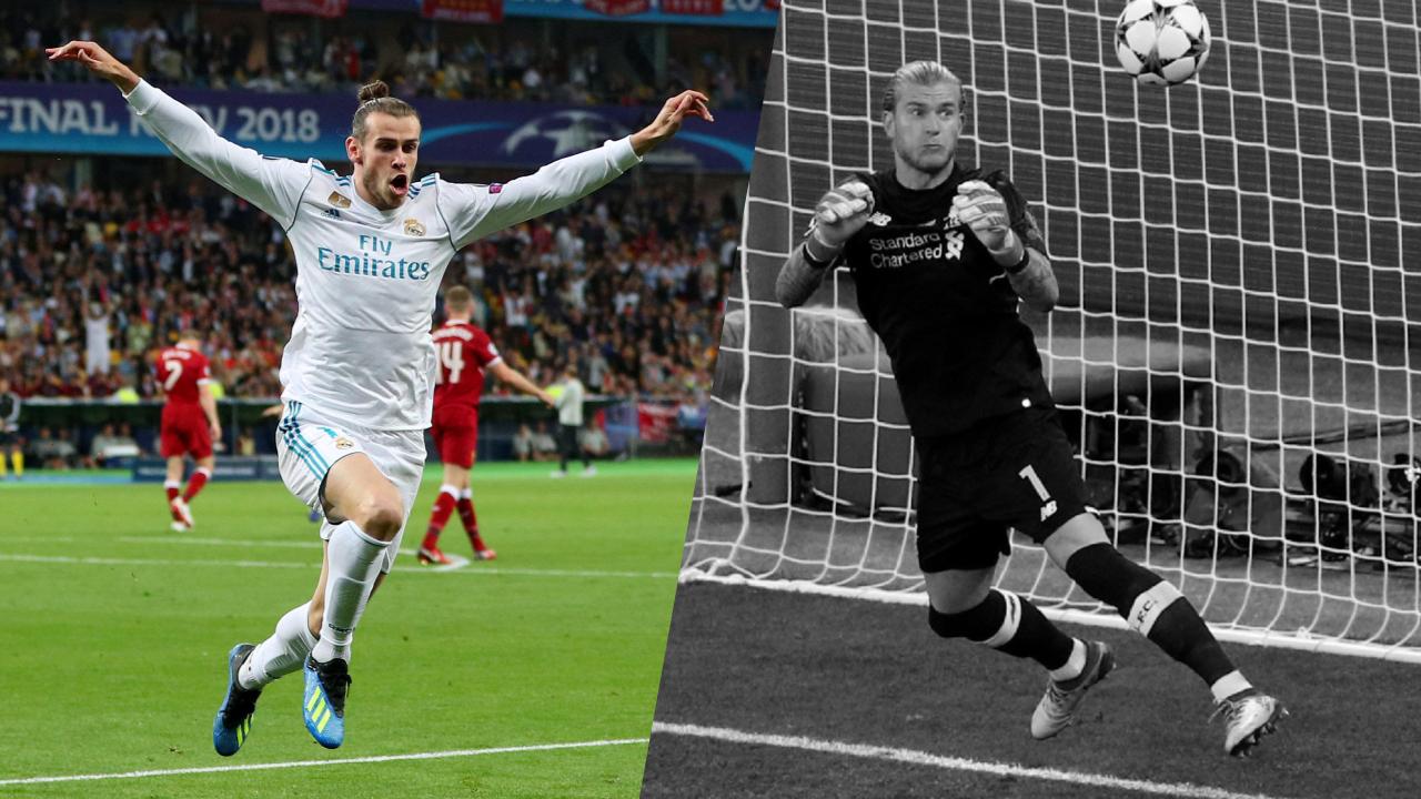 Football - Ligue des champions - Tops/Flops Real Madrid-Liverpool : Bale joker gagnant, Karius a plombé les Reds