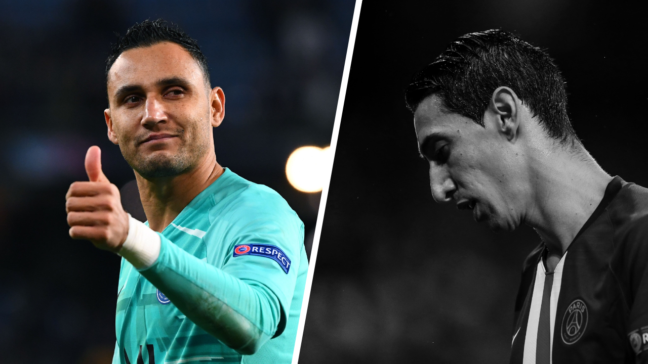 Football - Ligue des champions - Tops/Flops Real Madrid-PSG : Navas sauveur de Paris, Di Maria bien moins incisif