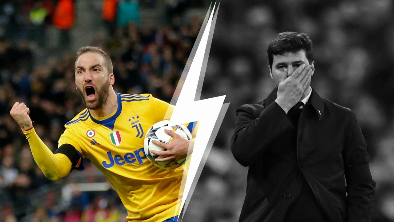 Football - Ligue des champions - Tops/Flops Tottenham-Juventus : Higuain superstar, les Spurs en plein cauchemar