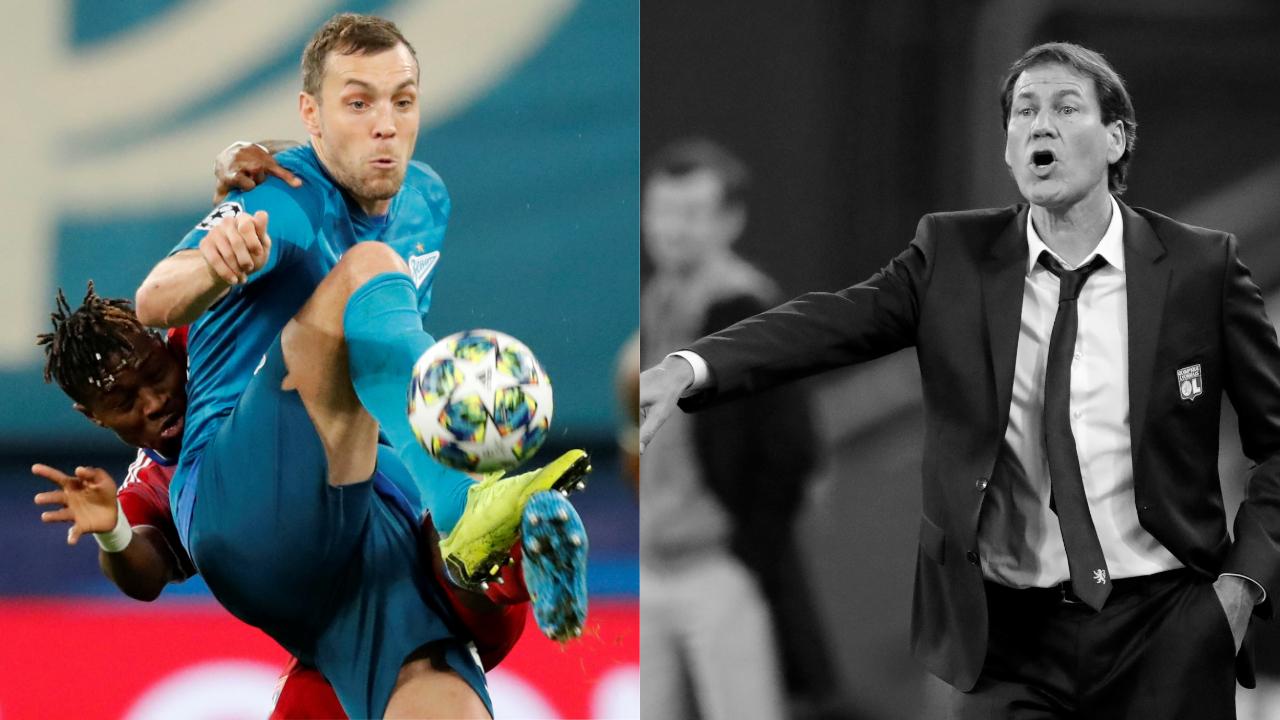 Football - Ligue des champions - Tops/Flops Zenit-OL : l'arme fatale Dzyuba, Garcia s'est (encore) raté