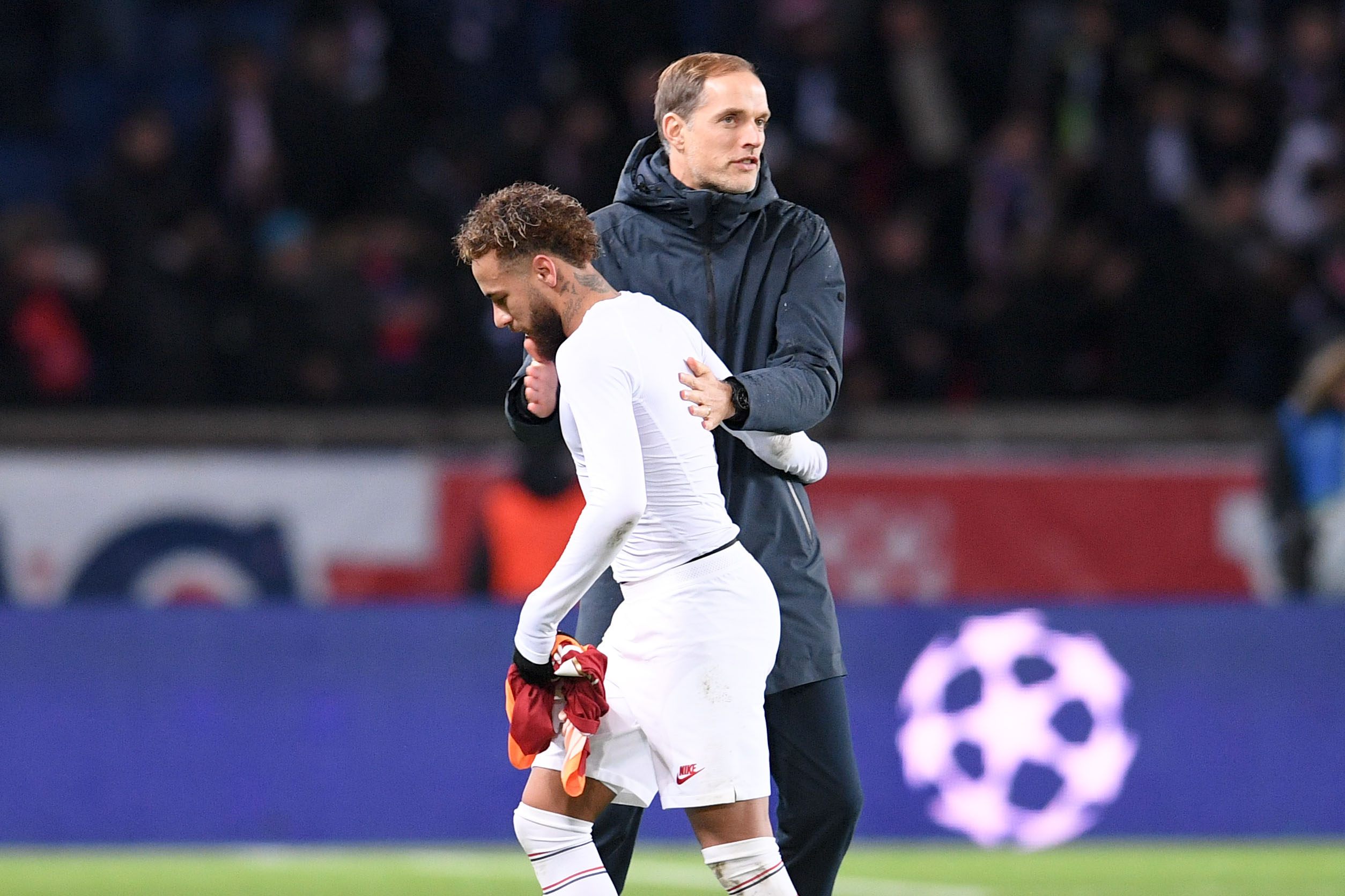 Football - Ligue des champions - Tuchel sur le geste de Neymar : «J'espère que c'est un symbole le reste de la saison»