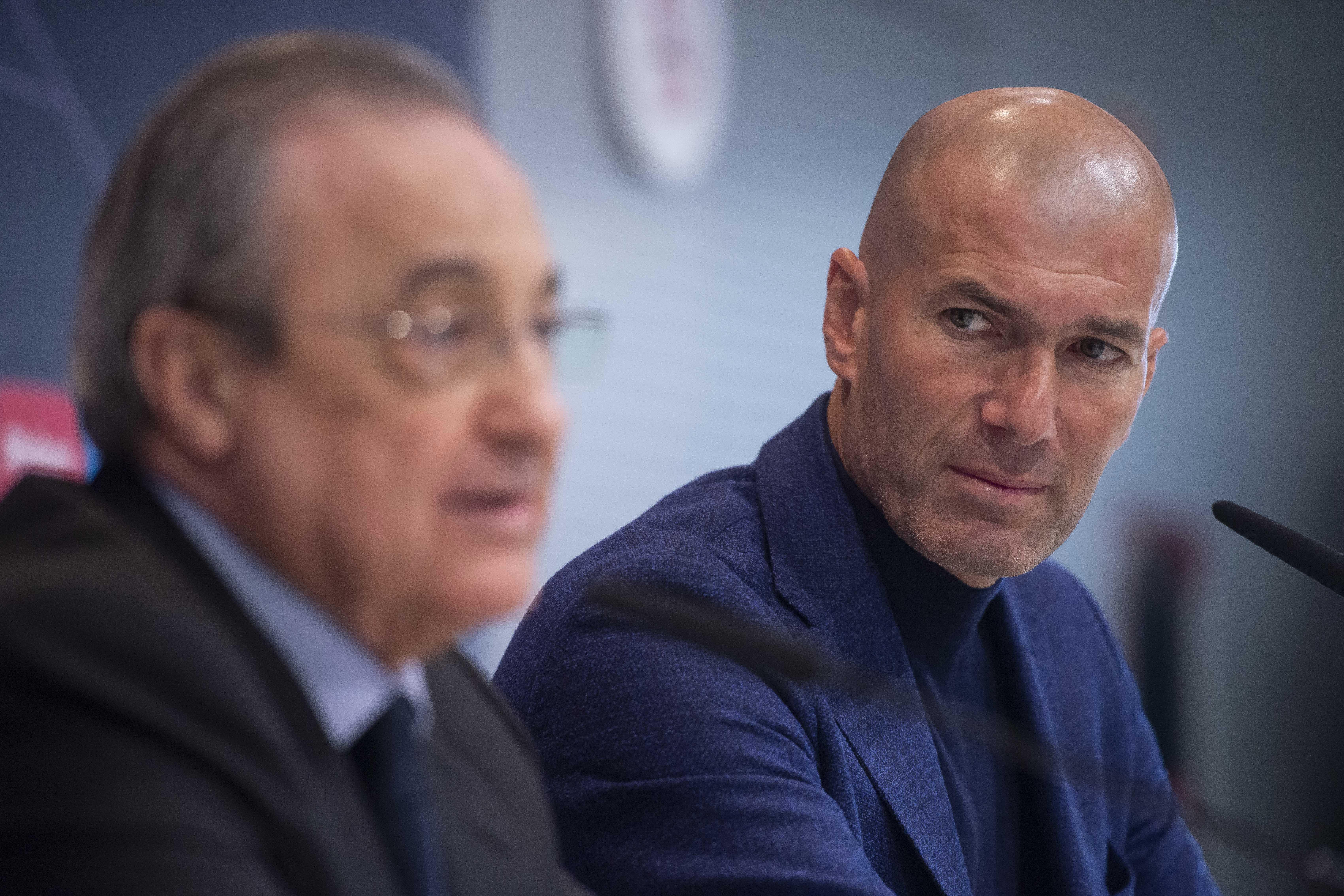 Football - Ligue des champions - Visionnaire, Zinédine Zidane avait prédit la chute du Real Madrid