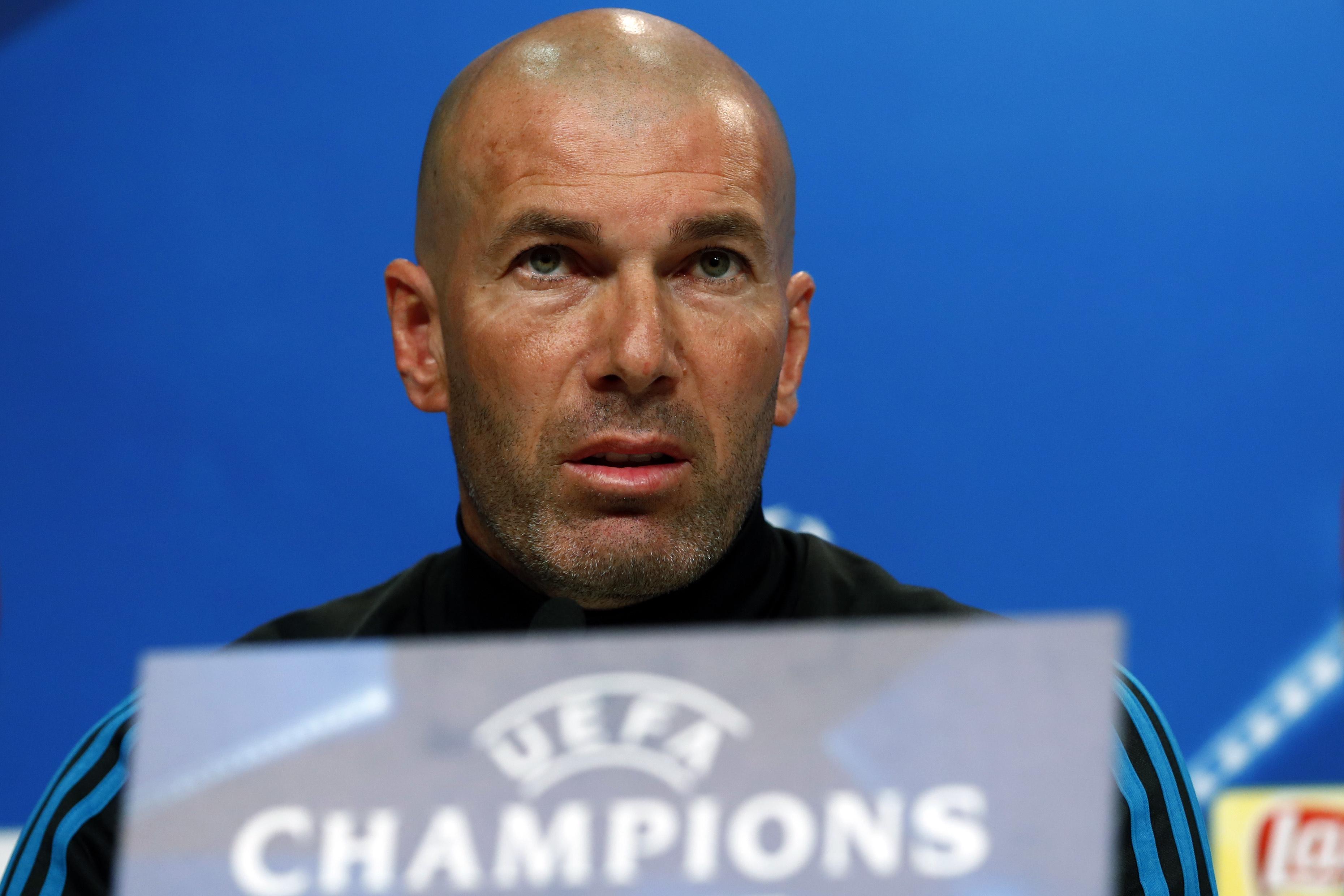 Football - Ligue des champions - Zidane avant Bayern-Real : «On ne va pas faire dans notre froc»