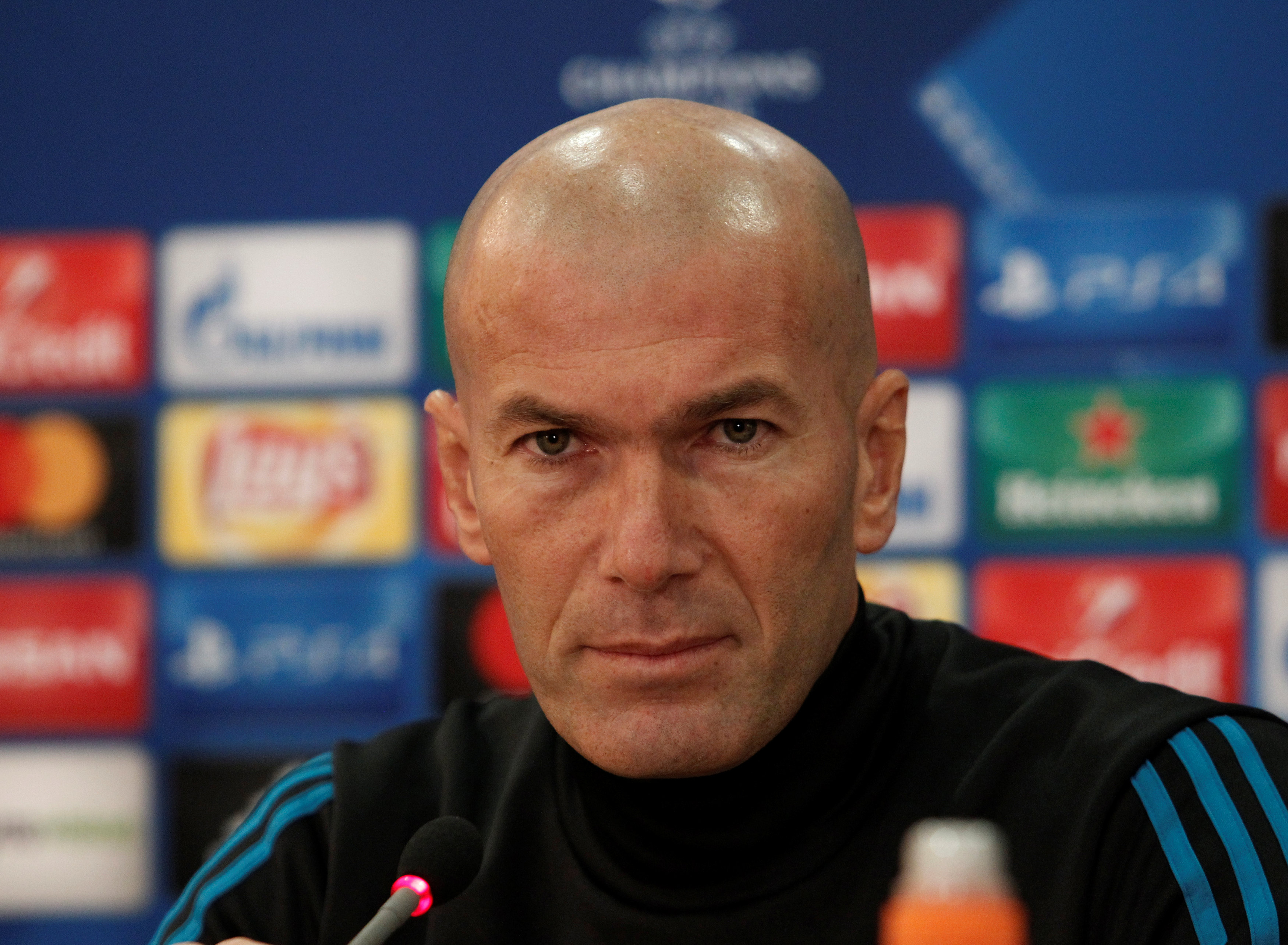Football - Ligue des champions - Zidane : «Nous devons retrouver de la confiance face au but»