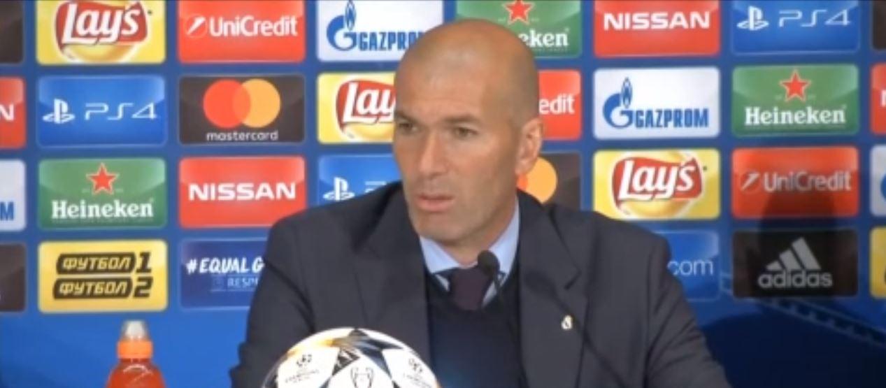 Football - Ligue des champions - Zidane sur Ronaldo : «Il doit rester avec nous»