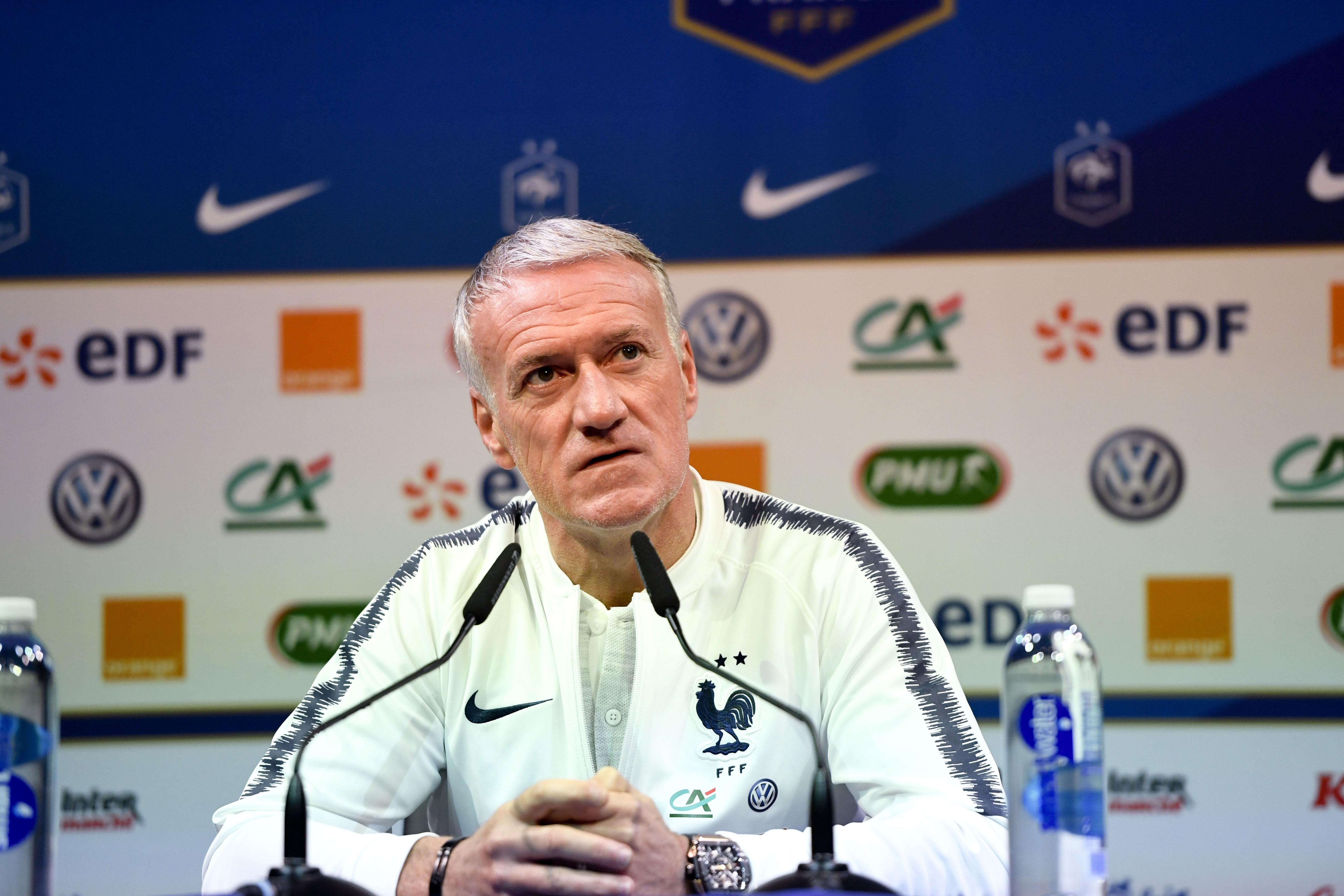 Football - Ligue des nations - Deschamps : «Il n'y a pas de lutte entre Mbappé et Griezmann» pour le Ballon d'Or
