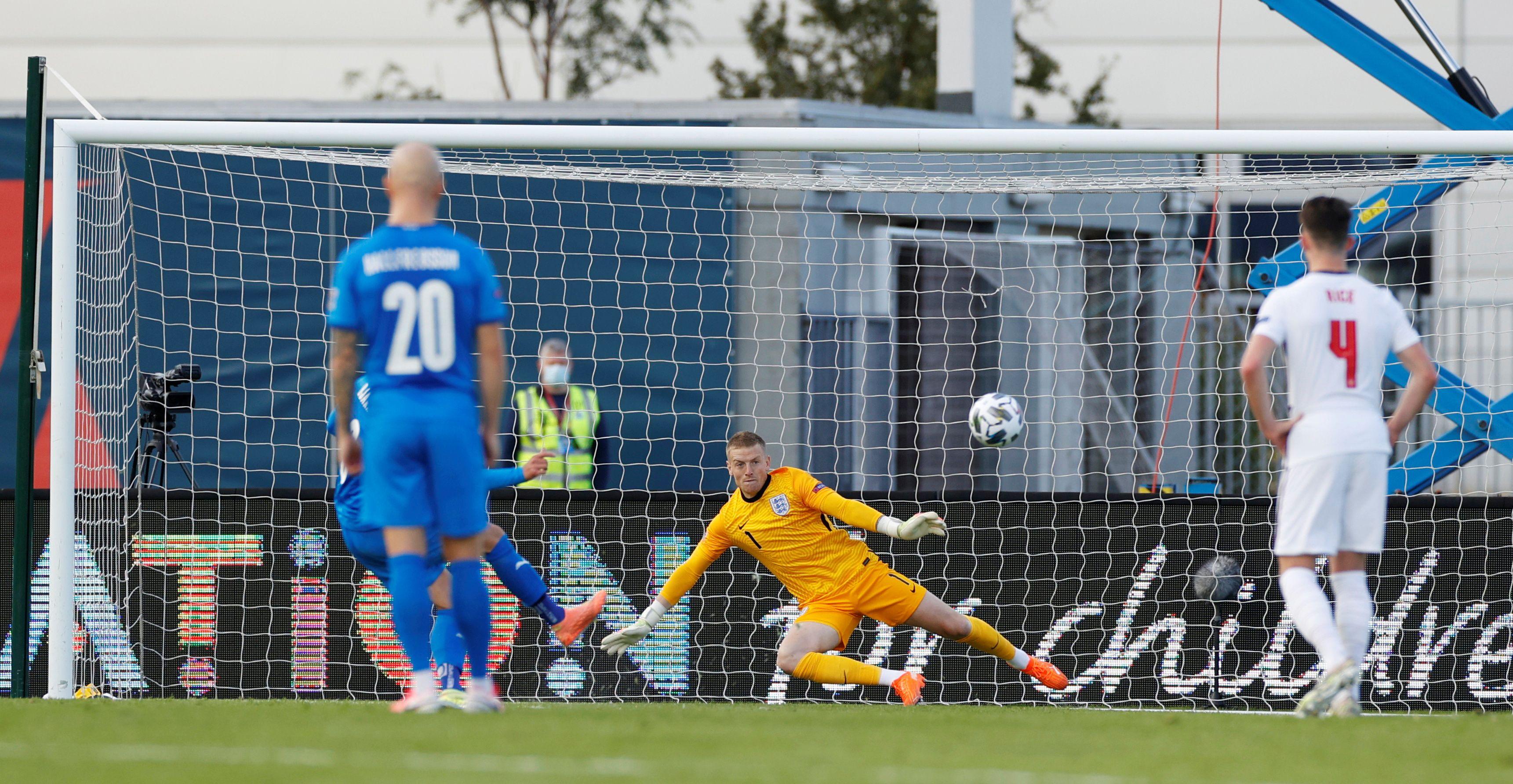 Football - Ligue des nations - Face à l'Islande, l'Angleterre s'est encore fait peur