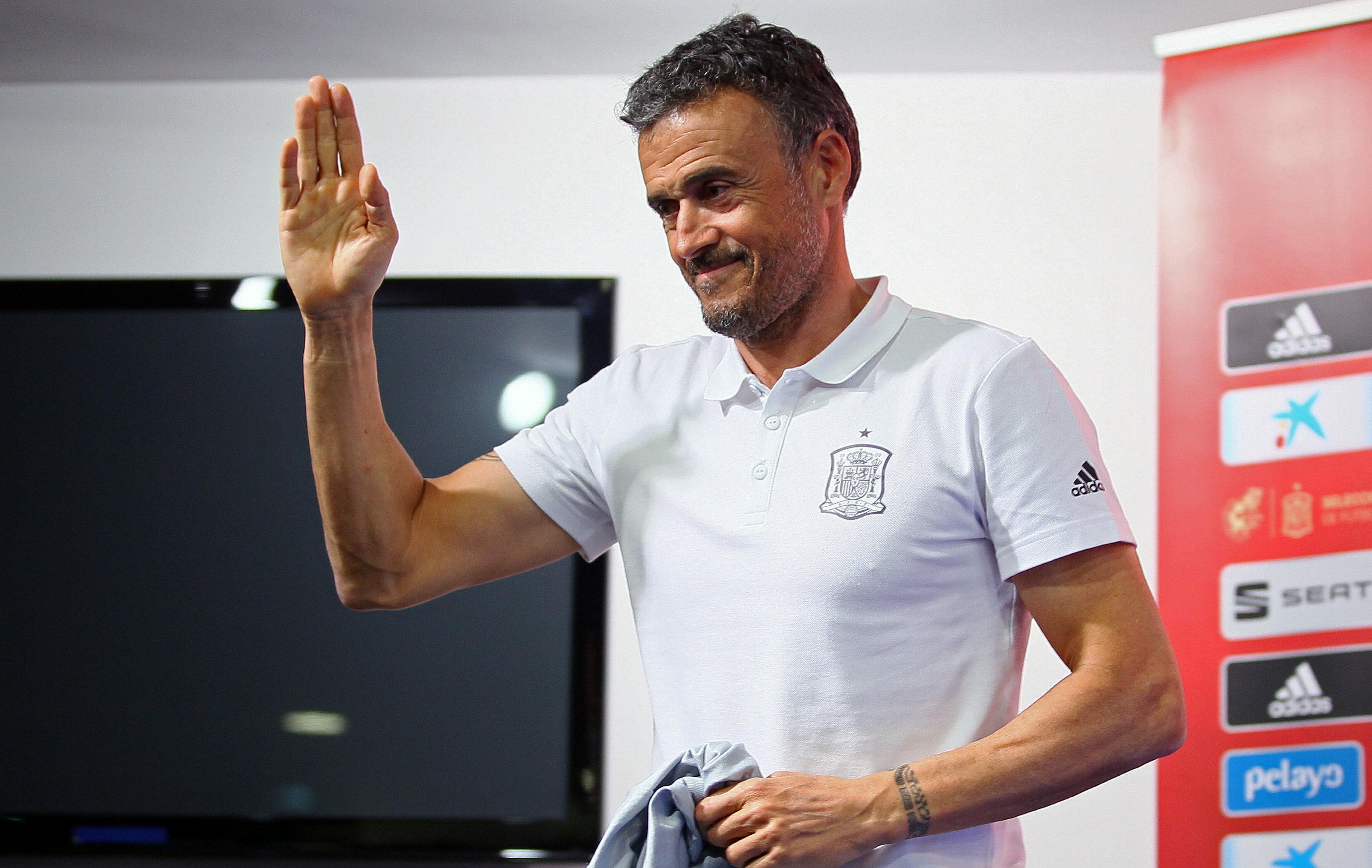 Football - Ligue des nations - La dure mission de Luis Enrique à la tête de la Roja