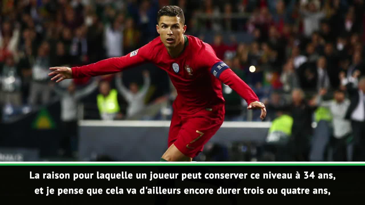 Football - Ligue des nations - Santos : «Ce que fait Ronaldo à 34 ans est hors du commun»