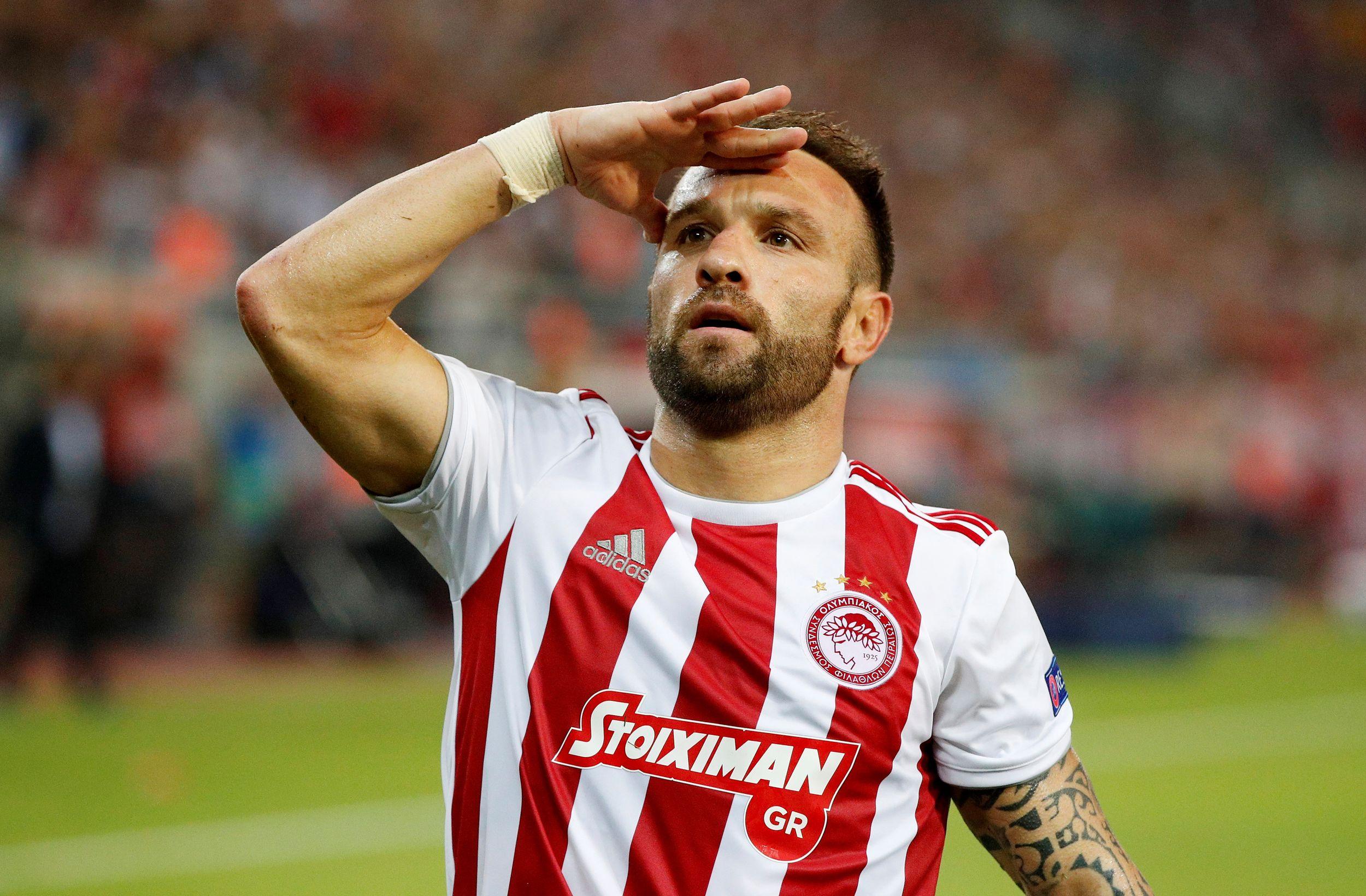Football - Ligue Europa - A l'Olympiakos, tout roule pour Mathieu Valbuena