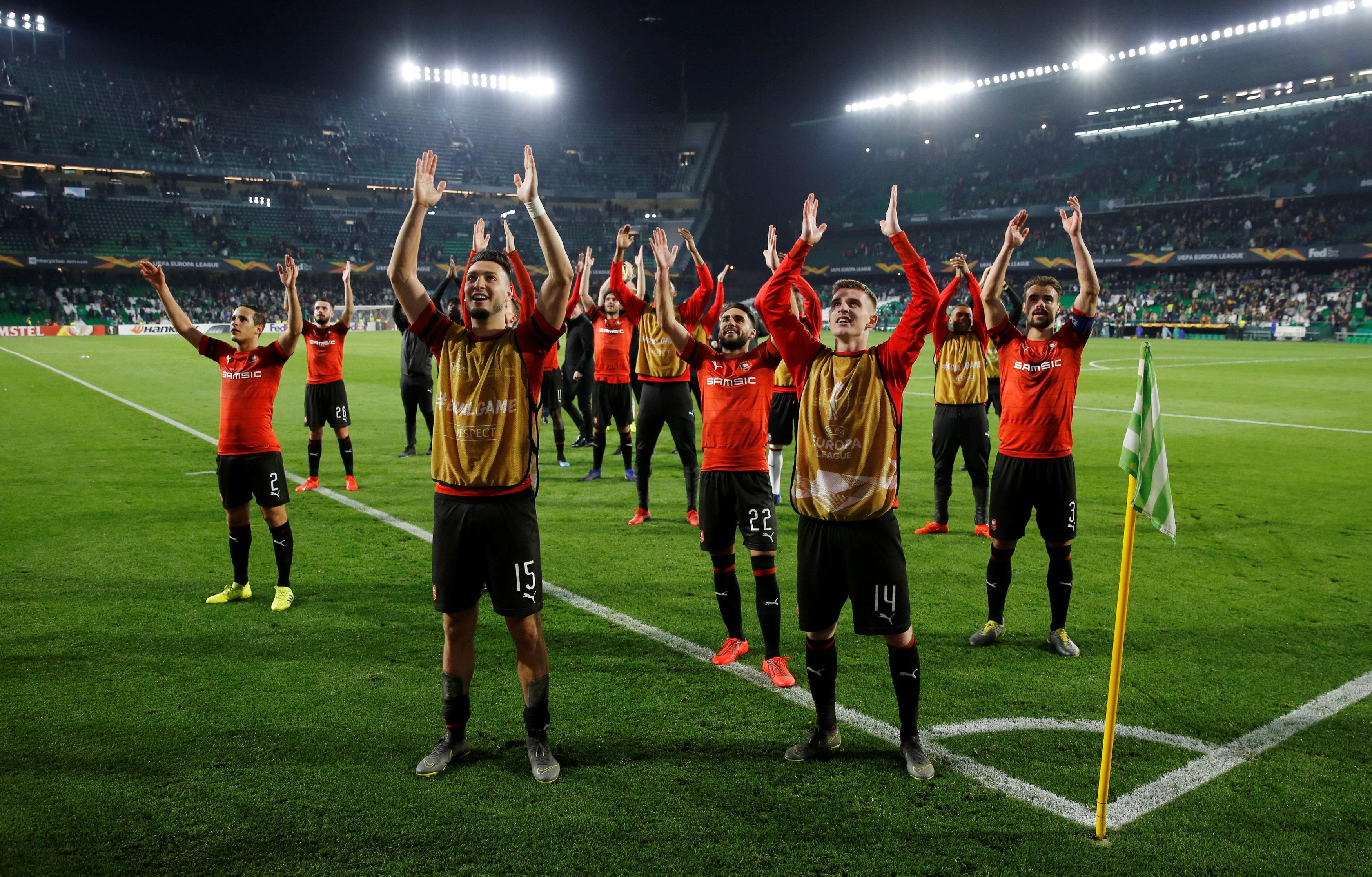 Football - Ligue Europa - «Fantastique», «heureux pour la Bretagne», «grande soirée» : les Rennais aux anges