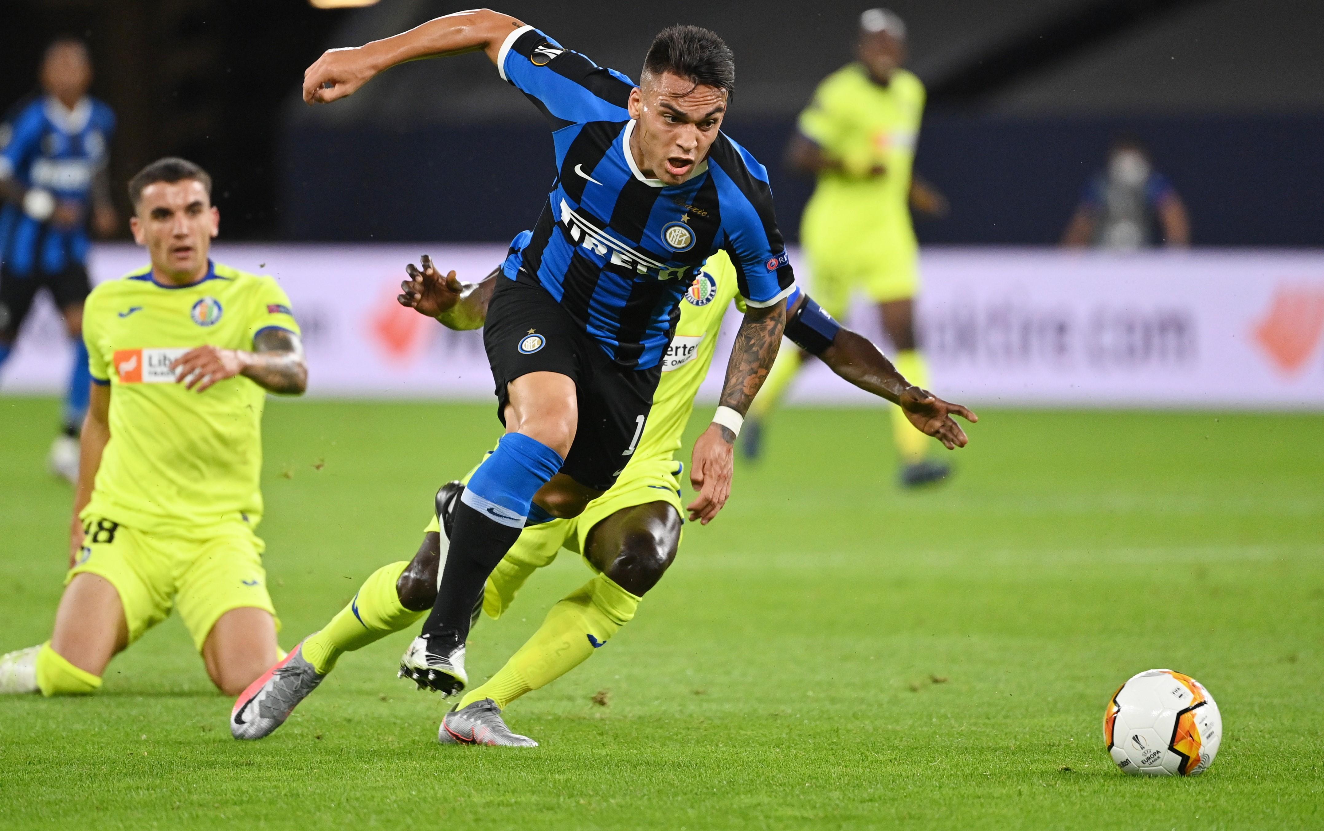 Football - Ligue Europa - Lautaro Martinez, l'Europe attend son message