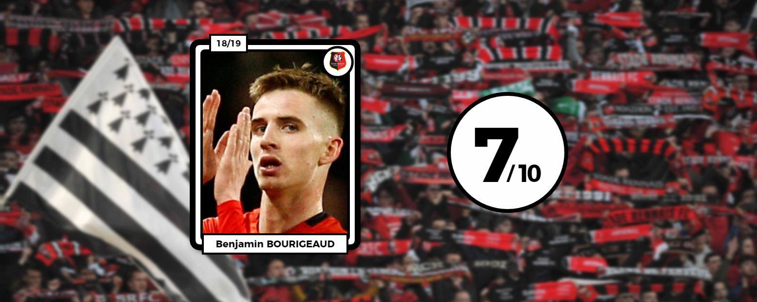 Football - Ligue Europa - Les notes des Rennais face à Arsenal : l'éclair de Bourigeaud