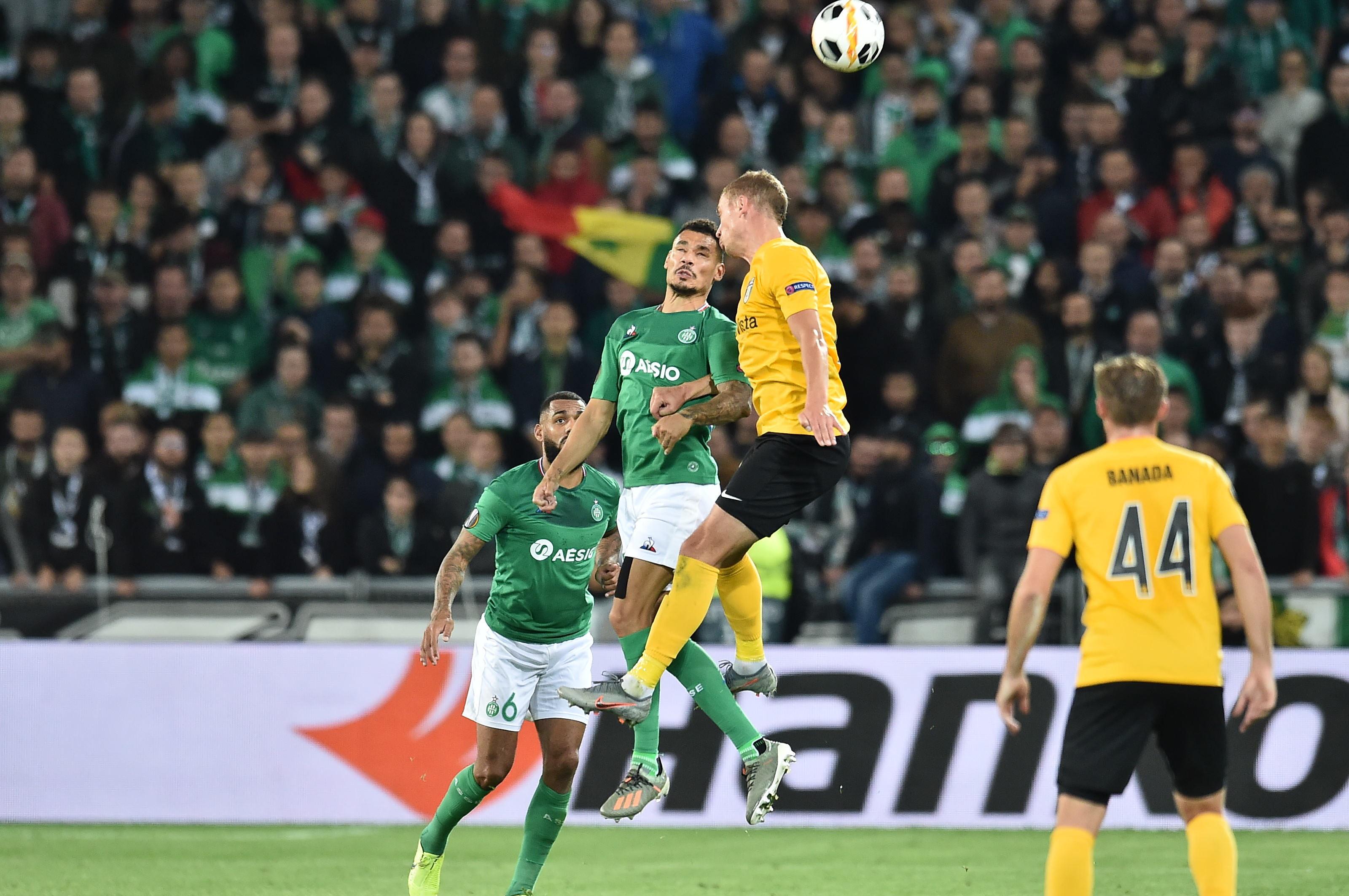 Football - Ligue Europa - Ligue Europa : les Verts ont «grillé un joker» mais continuent d'y croire