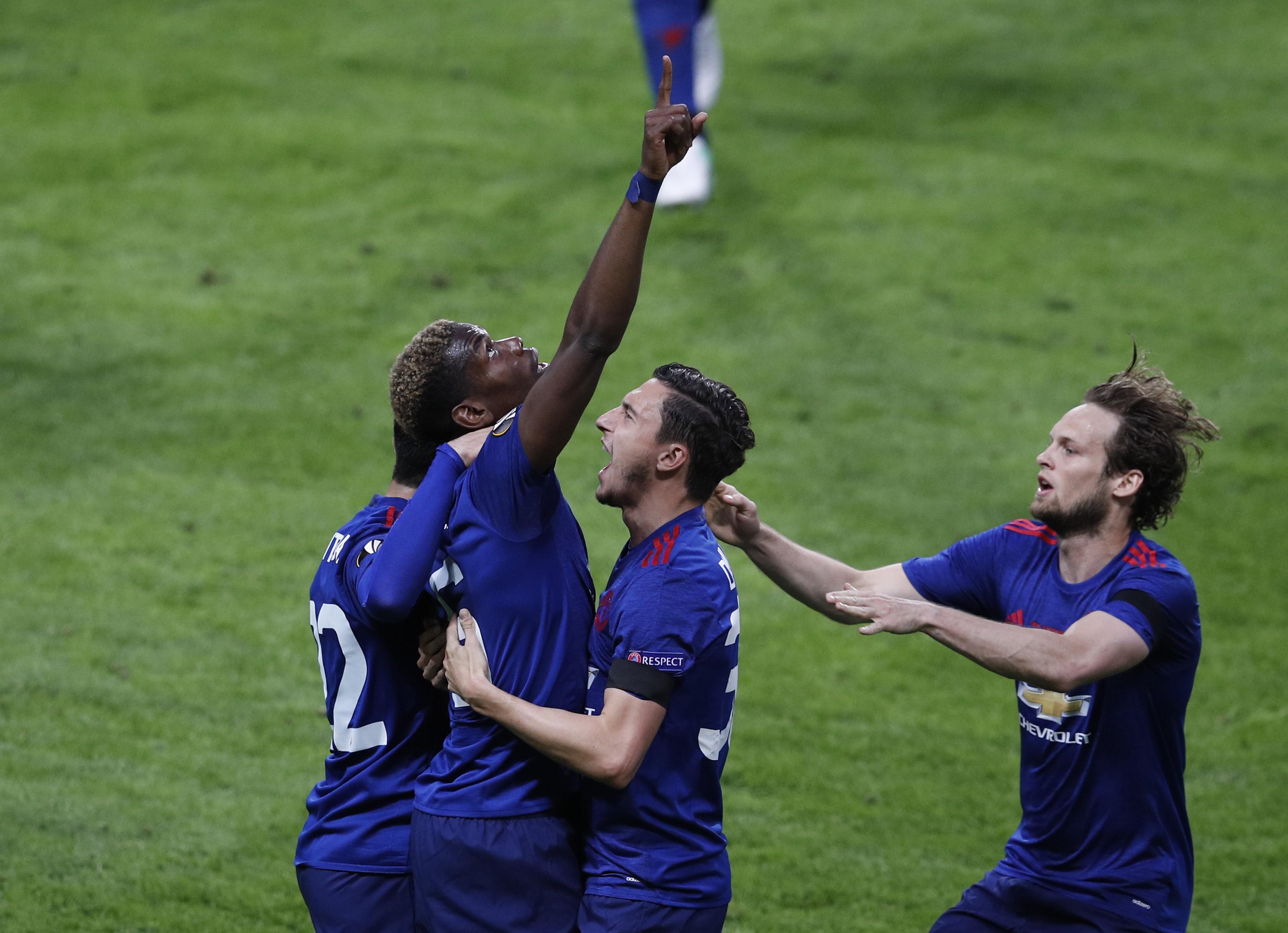 Football - Ligue Europa - Pogba : «Ce trophée est pour les victimes»