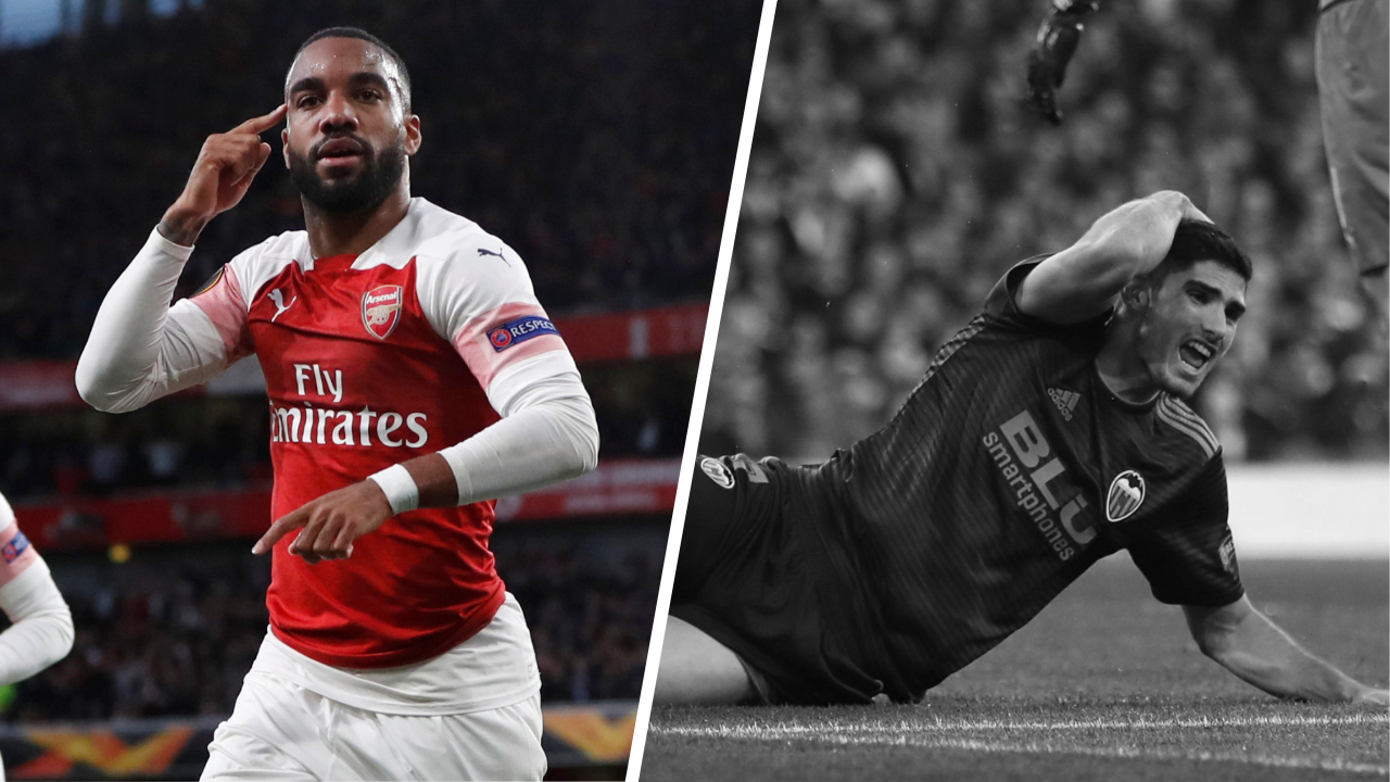 Football - Ligue Europa - Tops/Flops Arsenal-Valence : Lacazette insaisissable, Valence trop friable