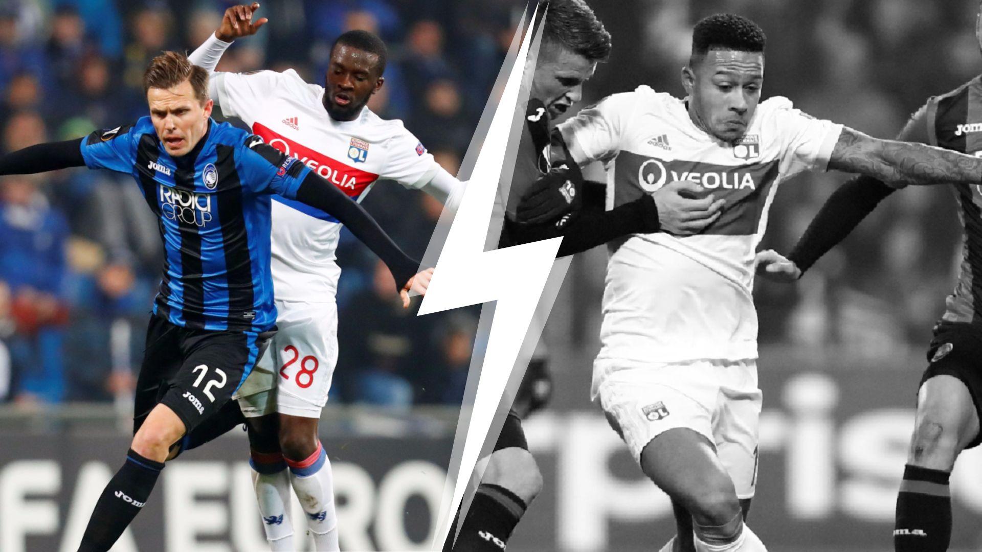 Football - Ligue Europa - Tops/Flops Atalanta-Lyon : Ndombélé a surnagé, Depay trop discret