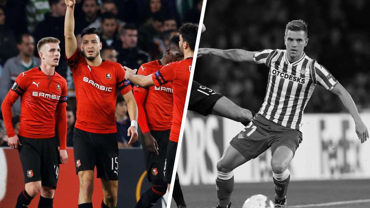 Football - Ligue Europa - Tops/Flops Betis-Rennes : Rennes a eu du cœur, le Betis s'est éteint