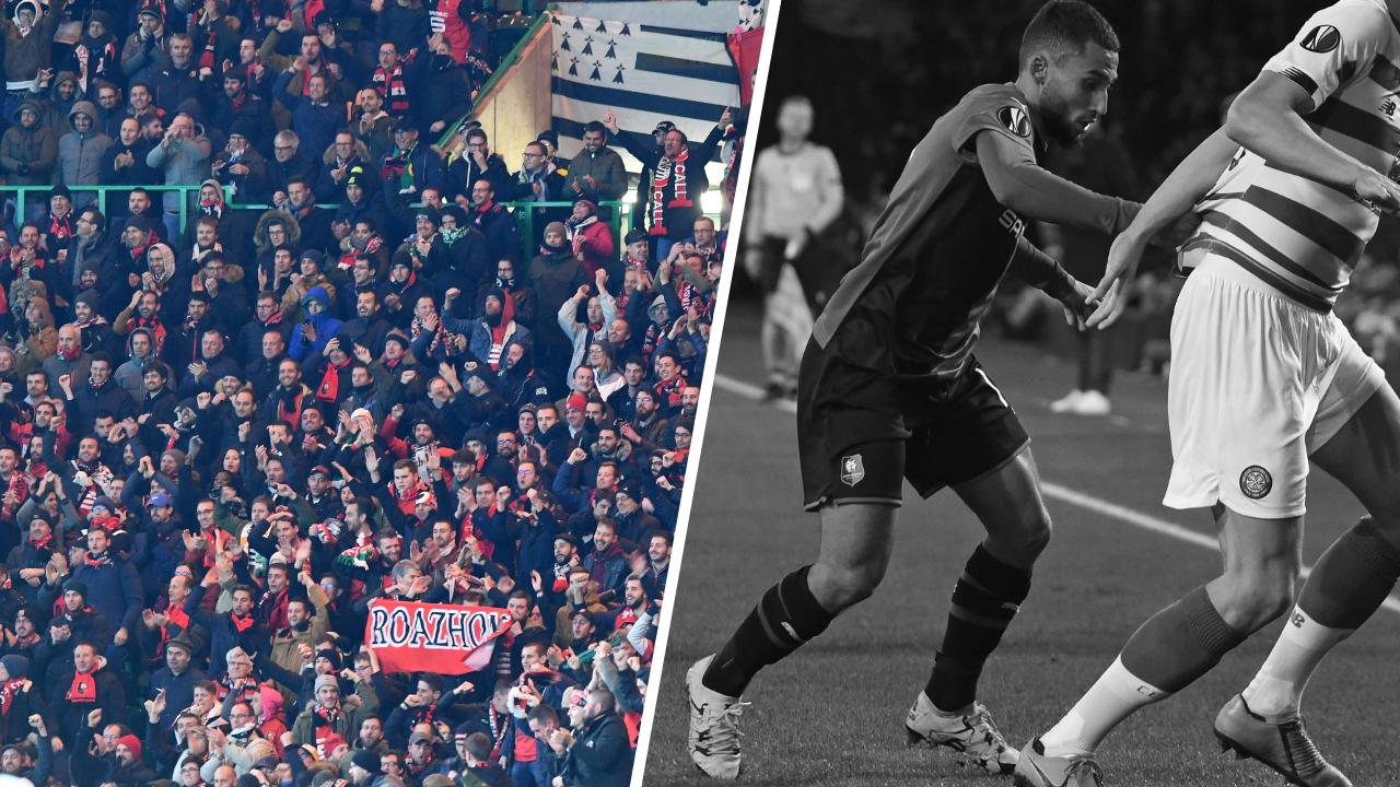 Football - Ligue Europa - Tops/Flops Celtic-Rennes : les supporters rennais font le show, la défense bretonne aux abois