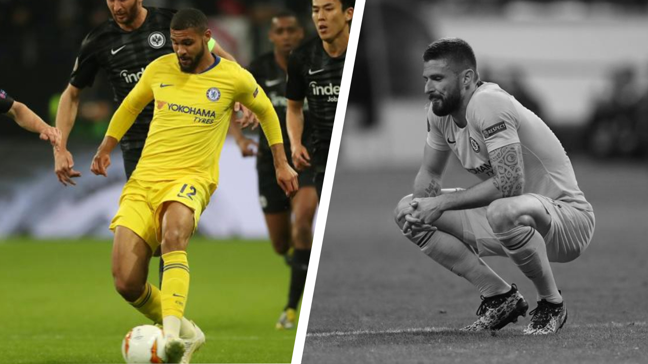 Football - Ligue Europa - Tops/Flops Francfort-Chelsea : un grand Loftus-Cheek, Giroud muet